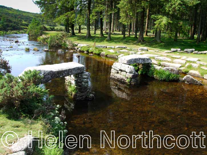 Bellever Clapper Bridge Dartmoor