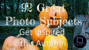 92 Photo Ideas For Autumn