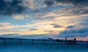 Dartmoor Photographer - Photograph Winter Sunset Skies