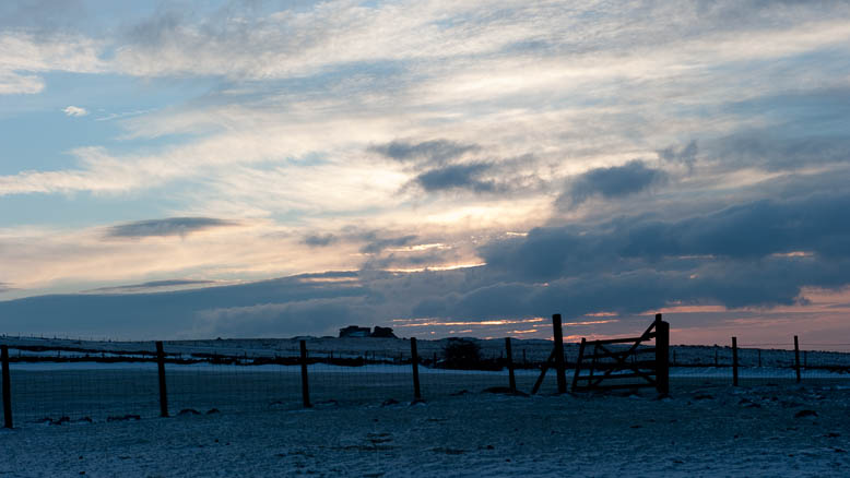 Dartmoor Photographer - Winter Sunset