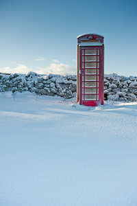 Rundlestone Telephone Box