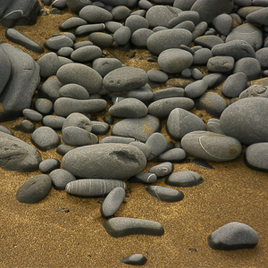 Pebbles and Sand