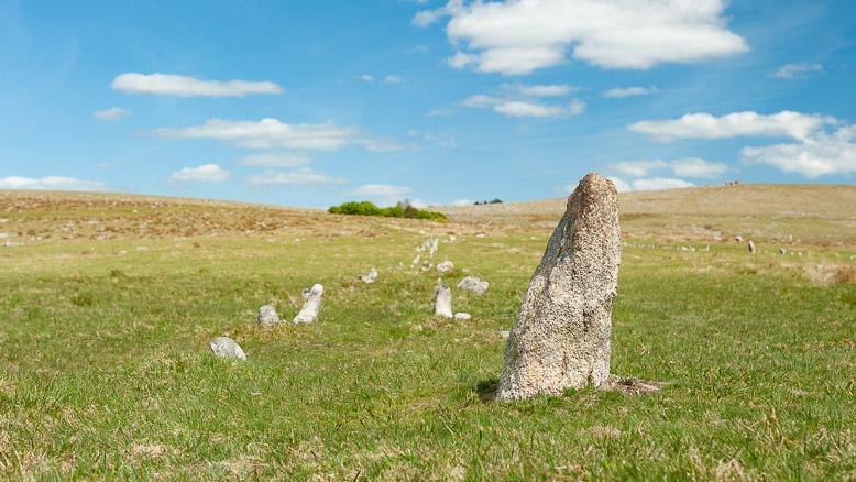 Exploring Merrivale Standing Stones