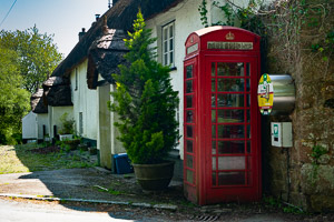 North Bovey - Dartmoor Phone Box