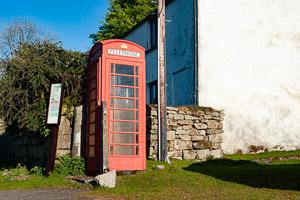 Merrivale Red Telephone Box