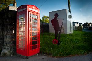 Princetown repurposed Telephone Box