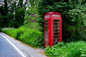 Red Telephone Boxes of Dartmoor - Crapstone