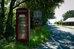 Lydford A386 Phone Box