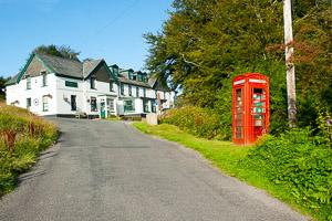 Hexworthy Telephone Box