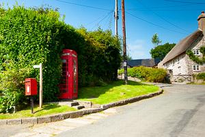 Holne Red Phone Box