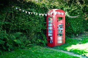 Scorriton Telephone Box