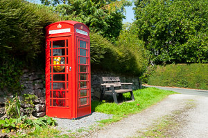 Red Telephone Boxes of Dartmoor - Brentor
