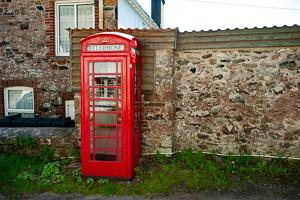 Aish Telephone Box