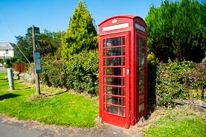 Wrangaton Phone Box