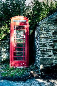 Meavy Telephone Box