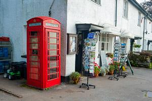 Postbridge Dartmoor Telephone