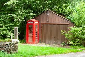 Clifford Bridge Telephone Box