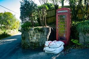 Christow Phone Box