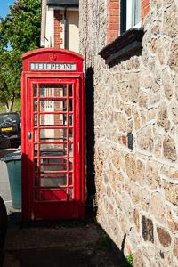 Lustleigh Dartmoor Phone Box