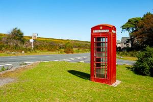 Haytor Vale Phone Box