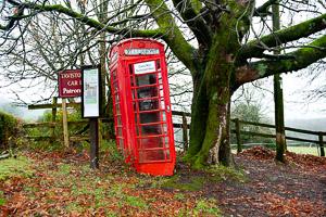 Poundsgate Red Telephone Box