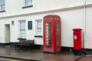 South Brent Phone Box