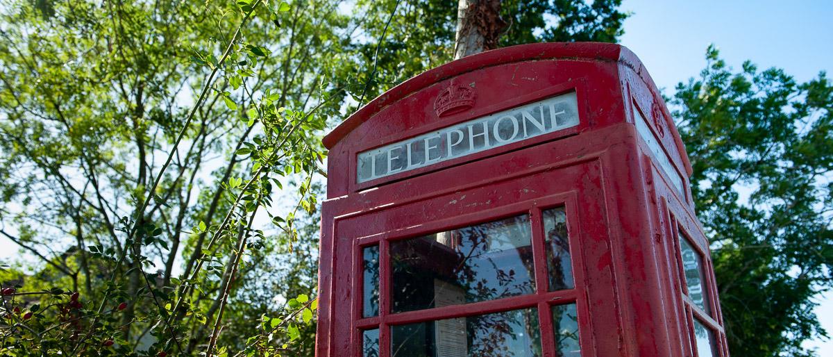 Dartmoor Red Telephone Boxes