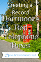 Dartmoor's remaining red telephone boxes