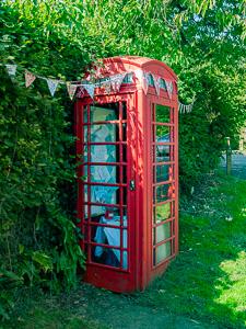Red Phone Box Scorriton Dartmoor