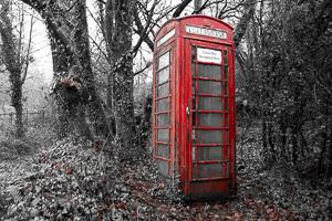 Dartmeet Phone Box