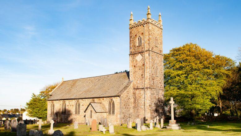 Helen Northcott Princetown Church Dartmoor